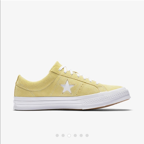 4e7ec1517ea1 Converse Shoes - Converse One Star Classic Suede Low Top Lemon